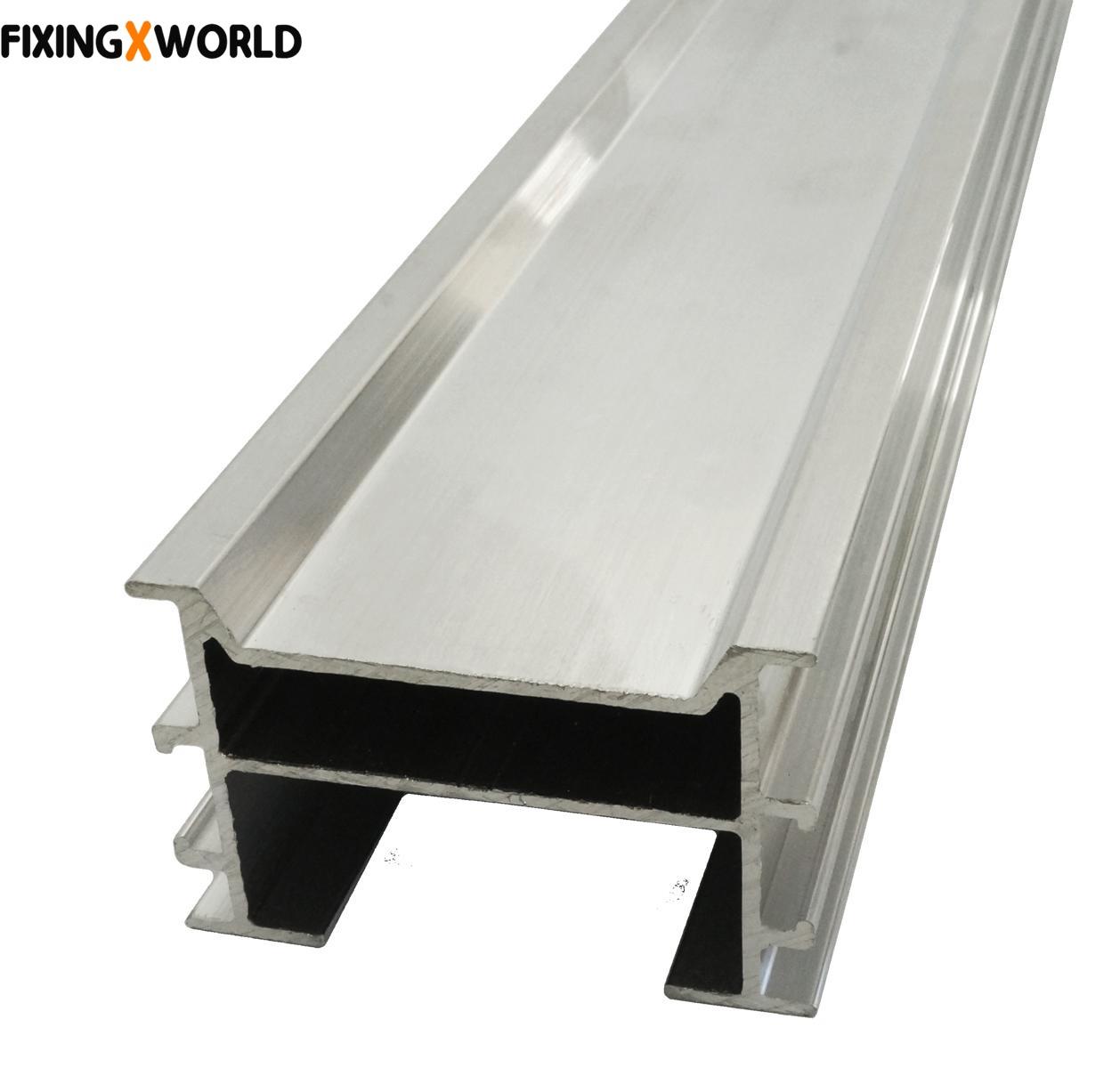 Aluminium Unterkonstruktionschiene für Terrassendielen