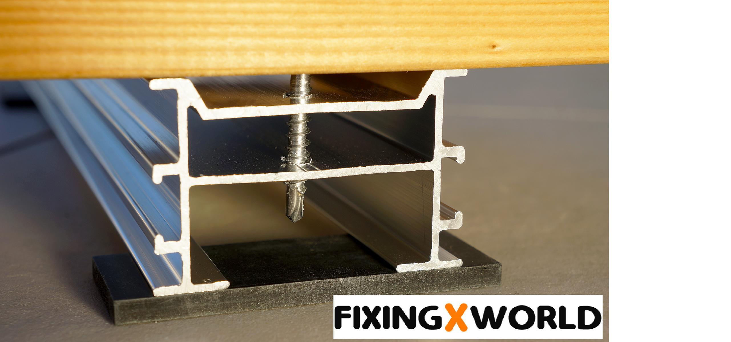 aluminium unterkonstruktion relo p relo k und relo u. Black Bedroom Furniture Sets. Home Design Ideas