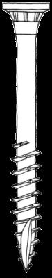 ELITA1 Edellstahlschrauben 5.0 x 70 mm  200 Stück
